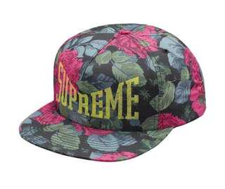 Supreme Floral Snap back Authentic