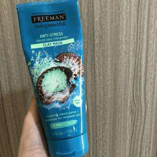 Freeman Anti Stress Dead Aea Minerals Clay Mask