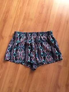 F21 Pattern Shorts