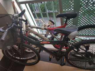 Black bike SGD40