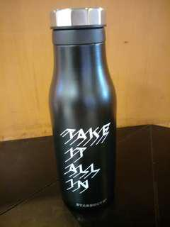 Water bottle 16ss take all in black