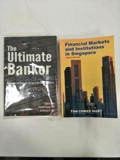 The ultimate banker and financial markets and institutions in Singapore