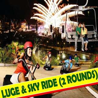 LUGE AND SKY RIDE (2 Rounds)