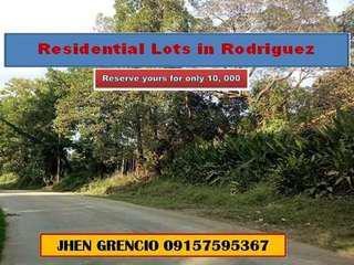 Hulagang Lote sa execitive Village Rodriguez Rizal