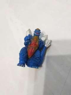 中古 日本 懷舊 哥斯拉 Godzilla 盒蛋 公仔