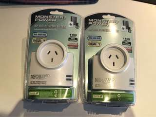 Monster Power AP100 Power Center Surge Protection