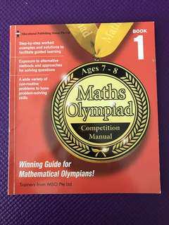 Maths Olympiad Age 7-8