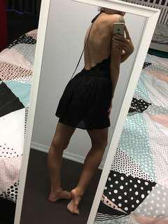 Black Playsuit size 10