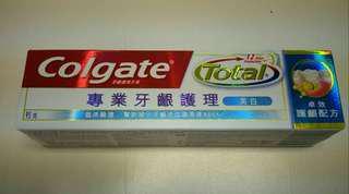 全新高露潔牙膏Colgate 專業牙齒護理(美白)