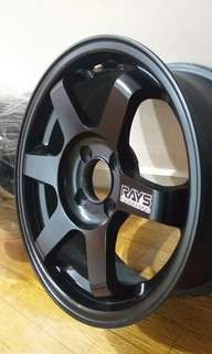 15' Rim TE37 Volk Racing