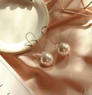 🚚 韓版氣質大珍珠