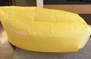 🚚 空氣沙發 (黃色。戶外懶人椅)