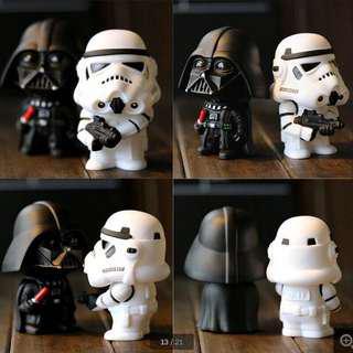 Darth Vader & Stormtrooper Bobbleheads