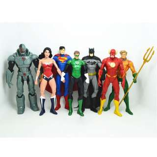 Set of 7 DC Heroes