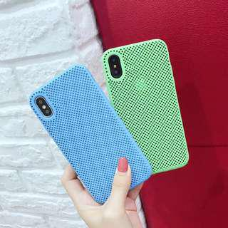 Perforated apple soft case