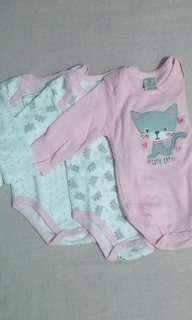 baby onesies set of 3