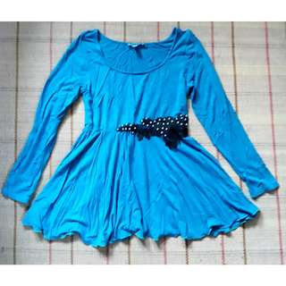 Peplum top S
