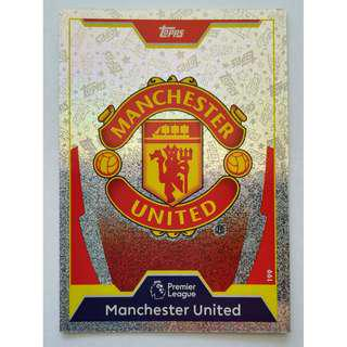 (BW) Manchester United Badge 17/18 (Free 7 players card)