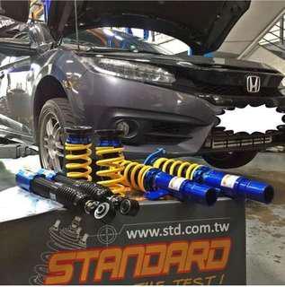 Honda Civic Turbo FC1 Coilover