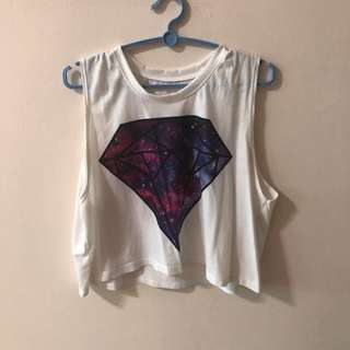 🚚 Galaxy cropped top