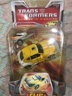 Original Transformers figures sold separately