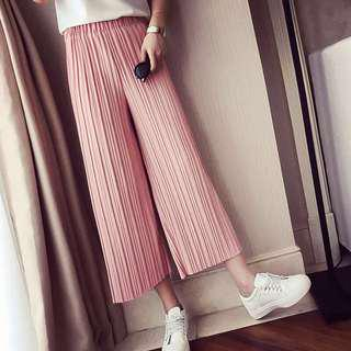 🚚 Pleated Culottes
