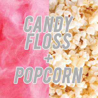 POPCORN &/ CANDY FLOSS (HALAL)