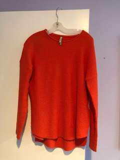 Maya Orange Sweater