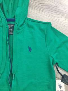 [NEW] zip up hoodie green and blue
