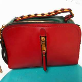 Tas Fashion Two Tone Colour