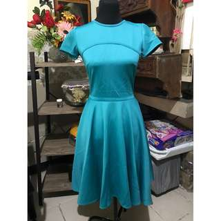 Apartment Eight Formal Teal Dress