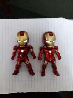 Iron man 發光公仔