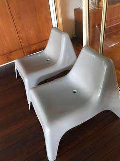 Ikea garden chair plastic