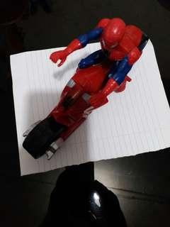 蜘蛛侠連电單車