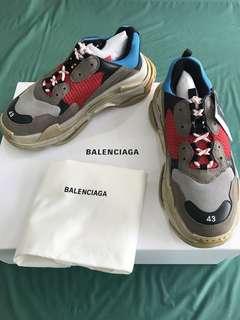 362f836066d Balenciaga Triple S Red Stone Black Sneakers