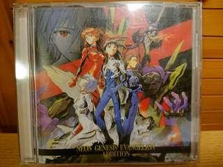 新世紀福音戰士 Evagelion EVA CD Soundtrack OST 唱片