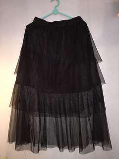New!!! Tule midi skirt