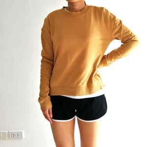 H&M Divided Mustard Sweater