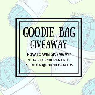 Goodie Bag Giveaway
