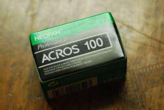 FRESH 35mm Film: Fuji Acros 36 Shots