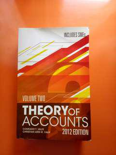 Theory of Accounts Volume 2 2012 Edition