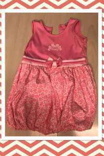 Baby & Me Pink Bubble Dress