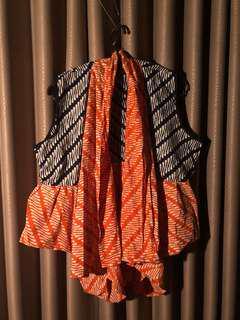 Batik Outer Vest