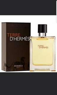 [原裝正貨100ml]全新HERMES TERRE D'HERMES EDT Perfume 愛馬仕 大地 男性淡香水 噴嘴SPRAY