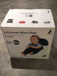 Jellymom Wise Chair 韓國多功能便攜式安全餐椅 (灰色)