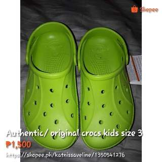 Authentic/ original crocs kids
