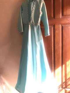dress gaun pesta jahitan