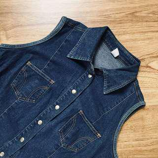 Kid's Denim Vest