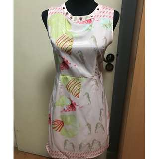 Womens' Printed Dress