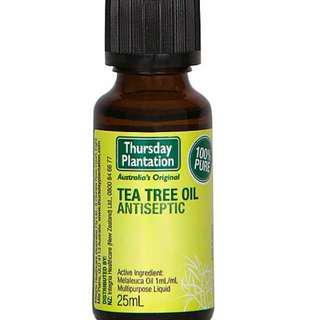 🚚 [25ml][FREE MAIL]Thursday Plantation Tea Tree Oil